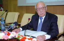 M.  Boualem Bessaïh, homme de lettres et écrivain