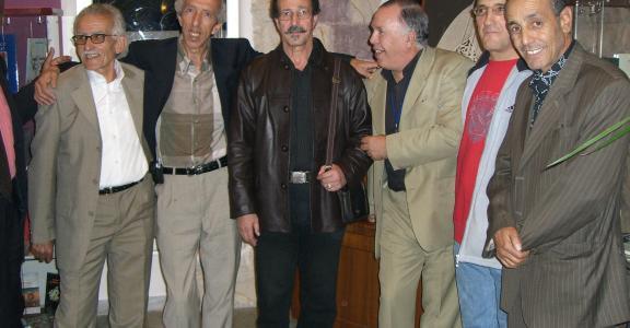 Les anciens producteurs et anciens réalisateur et deux invités .