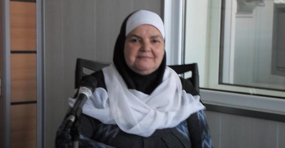 El Djida Arab,dite Djida Tamechtouht ,artiste et ancienne comedienne à la Chaine Deux