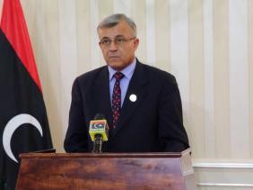 رئيس البرلمان المؤقت نوري أبو سهمين