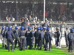 Au moins 20 blessés dans des violences lors du match MOB-USMA